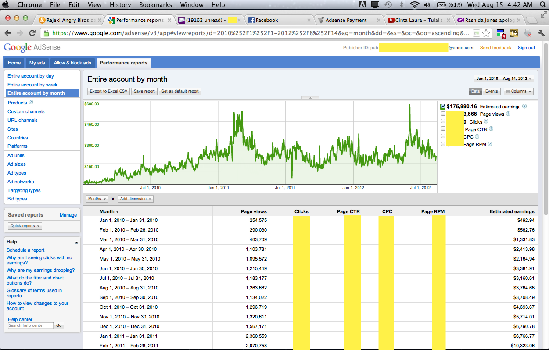 Adsense2012 1koma7milyar » Kisah Nyata: Serius di Google Adsense 2 tahun tembus 1,7M, WOW KK WOWWW