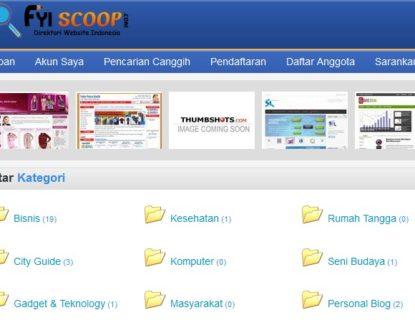 fyiscoop 415x325 » FYIscoop.Com: Direktori Website Indonesia Gratis Selamanya