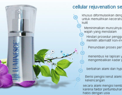 luminesce cellular rejuvenation serum 001 415x325 » LUMINESCE™ Cellular Rejuvenation Serum dari Jeunesse Global
