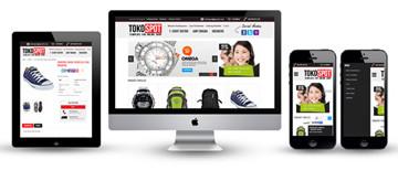 Membuat toko Online yang Responsif