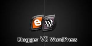 wordpress vs blogspot 300x151 » Pilih Wordpress atau Blogspot - Lebih baik yang mana?