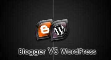 wordpress vs blogspot 360x195 » Pilih Wordpress atau Blogspot - Lebih baik yang mana?