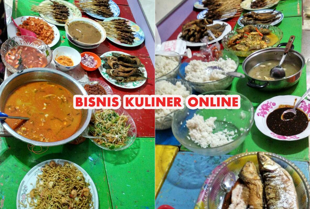 panduan bisnis kuliner online » Gurihnya Potensi Penghasilan Bisnis Makanan Online