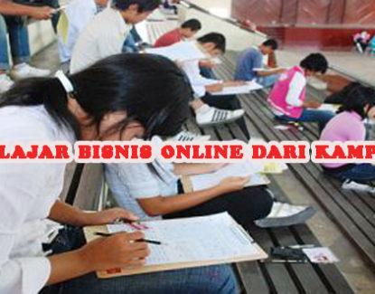 memulai usaha dari kampus dengan bisnis online 415x325 » Belajar Bisnis dari Bangku Kampus? Coba Peluang Bisnis Online untuk Mahasiswa